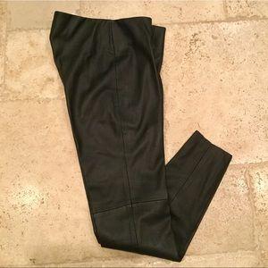 Zara Basic Faux Leather Pants